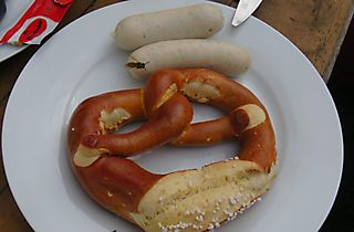 Weisswurstfruestueck